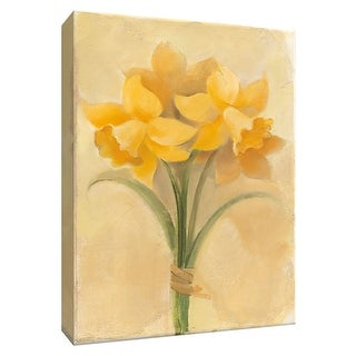 "PTM Images 9-154705  PTM Canvas Collection 10"" x 8"" - ""Inspirational Daffodils"" Giclee Daffodils Art Print on Canvas"