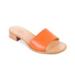 Churchs Laura Tangerine Leather Mules Sandals