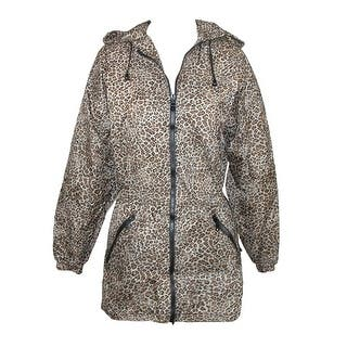 ShedRain Women's Packable Fashion Leopard Print Anorak Rain Jacket|https://ak1.ostkcdn.com/images/products/is/images/direct/b2c6a6c9c0fa8ceedd305d034ea52343667819e0/ShedRain-Women%27s-Packable-Fashion-Leopard-Print-Anorak-Rain-Jacket.jpg?impolicy=medium