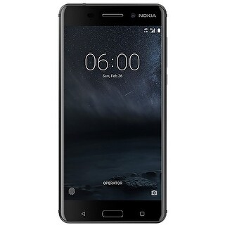 Nokia 6 TA-1025 32GB Unlocked GSM Android Phone w/ 16MP Camera - Black