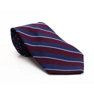 Brooks Brothers NEW Red Thick Herringbone Striped Men's Silk Necktie