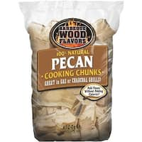 Barbeque Wood Flavors 432 Cu In Pecan Chunks 10179 Unit: EACH