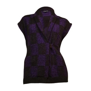 American Living Women's Boucle Toggle Shawl Cardigan