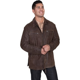 Scully Western Jacket Mens Premium Lamb Zip Front Point Collar 997
