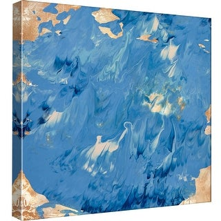 """PTM Images 9-98995  PTM Canvas Collection 12"""" x 12"""" - """"Rise and Roll 1"""" Giclee Abstract Art Print on Canvas"""