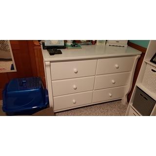 Taylor & Olive Hyde Park Children's Universal White 6-drawer Dresser