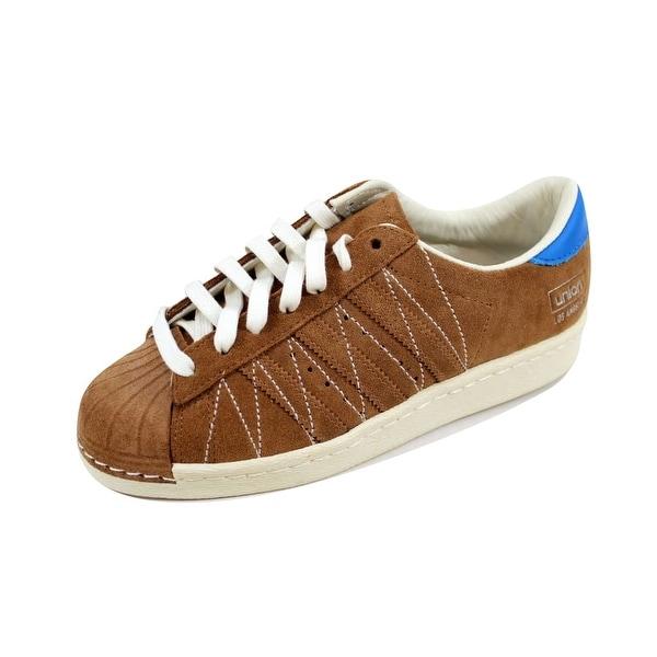 Adidas Men's Superstar 80v Union Timber/Timber-White B34079 Size 4