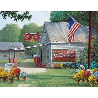 Country Gen Store Coca Cola 500 Piece Puzzle
