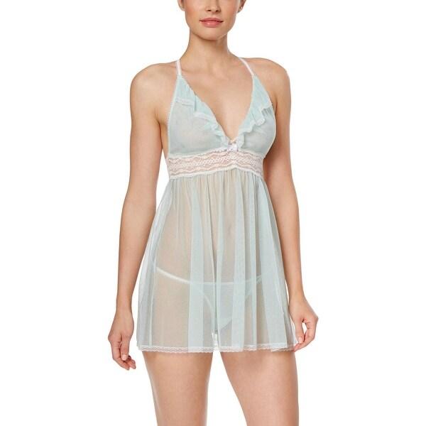 efbb3843ff Shop Betsey Johnson Womens Babydoll Mesh Lace Trim - Free Shipping ...