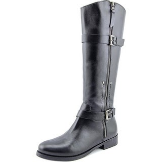 Matisse Militia Round Toe Leather Knee High Boot