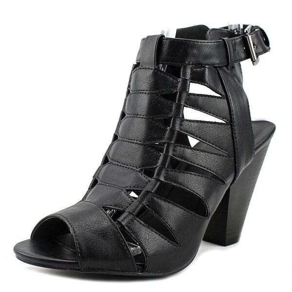 Wild Diva Mina Women Black Sandals