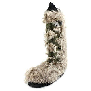 Marni Frappe Round Toe Synthetic Winter Boot