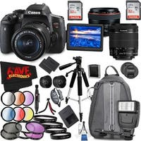 Canon EOS Rebel T6i DSLR Camera with 18-55mm Lens (Intl Model) and Canon EF 50mm f/1.2L USM Lens