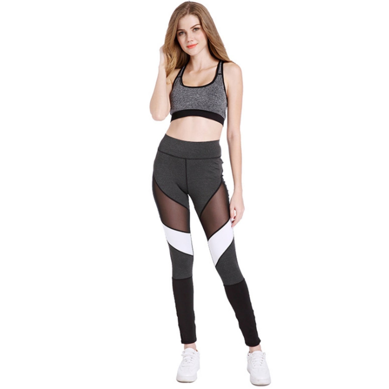 various design 2019 discount sale lowest price Women Fitness Leggings Color Block Autumn Winter Workout Pants