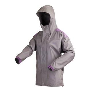 """Coleman Womens PVC Nylon Jacket - S PVC - Nylon Jacket"""