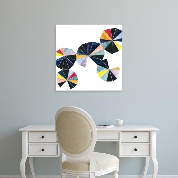 Easy Art Prints Grace Popp's 'Pinwheel Bright I' Premium Canvas Art