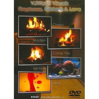 Fireplaces, Fishtank & Lava - DVD