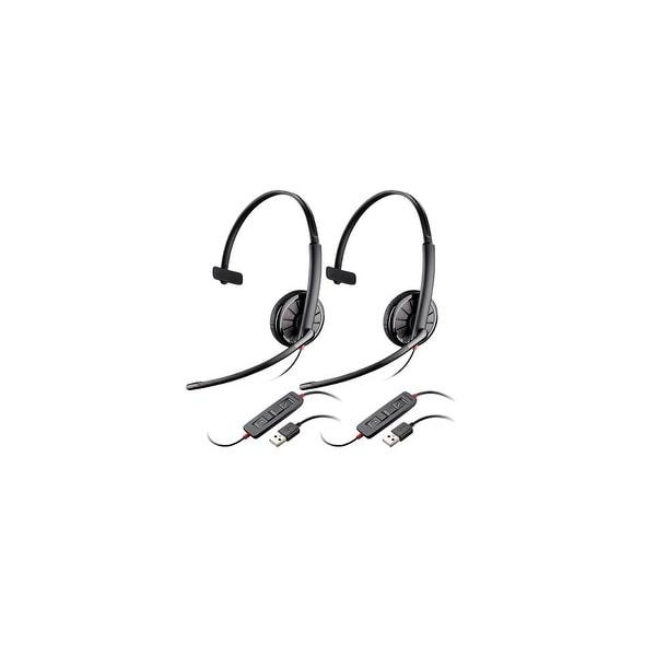 Plantronics Blackwire C315 (2-Pack) Mono Corded Headset