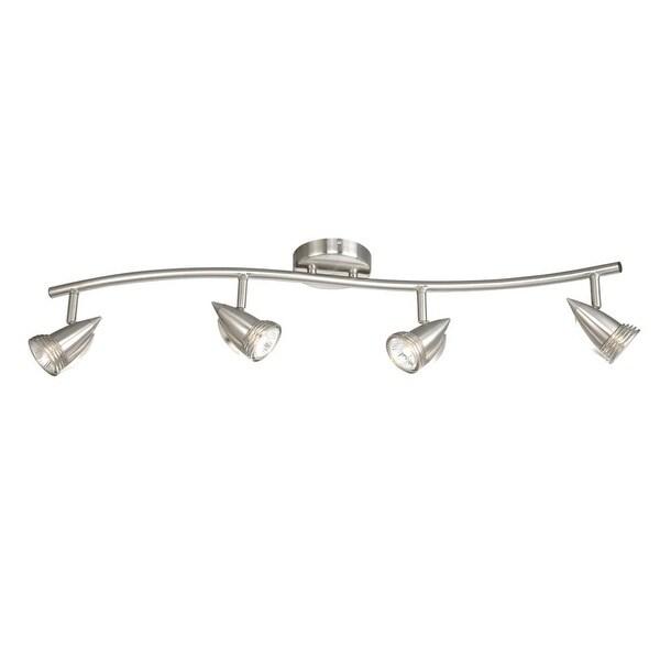 Vaxcel Lighting SP34114 Garda 4-Light 50 Watt Each Halogen Accent Light Fully Adjustable - Brushed nickel - N/A