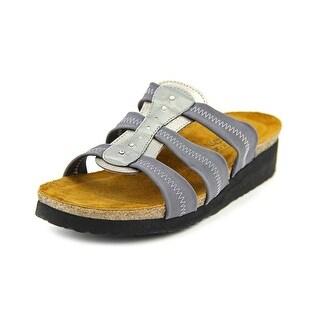 Naot Brooke Open Toe Canvas Platform Sandal