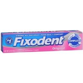 Fixodent Denture Adhesive Cream Original 2.40 oz