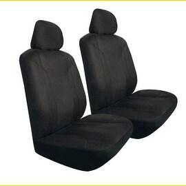 Pilot Automotive Universal Black Micro Suede Seat Cover