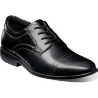 Nunn Bush Men's Dixon Cap Toe Derby Shoe Black Leather