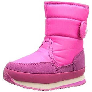 Rubber Duck Girls Classic Jogger Toddler Suede Trim Snow Boots - 11