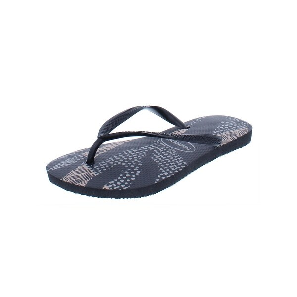 2b0256afab1e54 Shop Havaianas Slim Womens Native Flip-Flops Thong Flat - Free ...