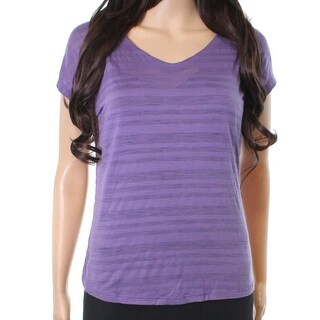 Smartwool NEW Purple Women's Size XS Reversible Burnout Knit Top