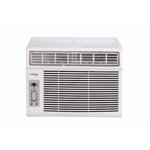 Koldfront WAC10003WCO 10000 BTU 115V Window Air Conditioner with Dehumidifier and Remote Control - White