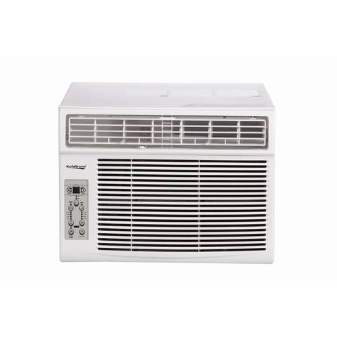Koldfront WAC12003WCO 12000 BTU 115V Window Air Conditioner with Dehumidifier and Remote Control - White