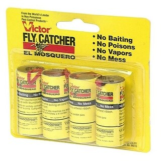 Victor M510 Fly Catcher Paper Ribbons, Pack-4
