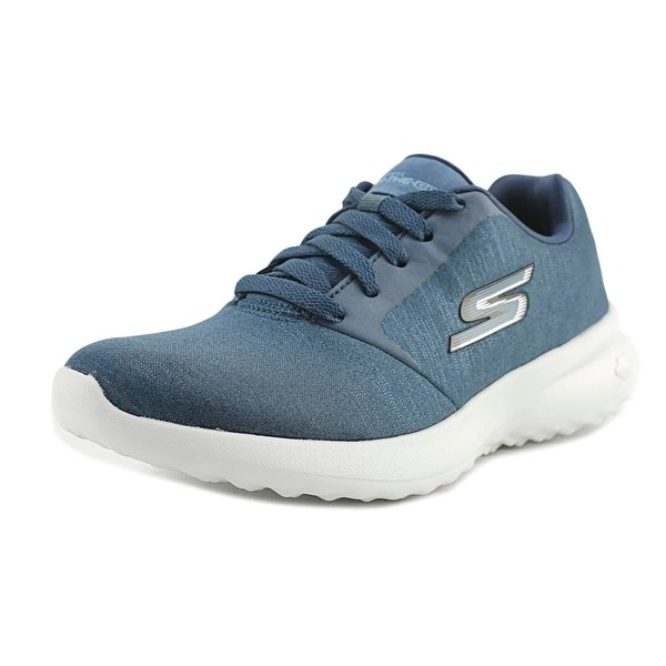 Skechers On the Go City 3 - Renovated Women Round Toe Synthetic Blue Sneakers
