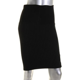 Catherine Malandrino Womens Textured Fitted Pencil Skirt - S