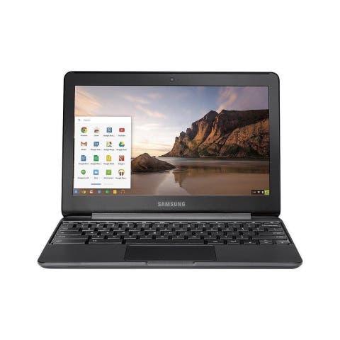 "Samsung Chromebook 3 XE500C13-K04US Intel Celeron N3060 1.6 GHz Dual-Core 4 GB RAM 16 GB SSD 11.6"" Refurbished"