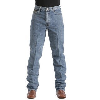 Cinch Western Denim Jeans Mens Green Label Relaxed - Medium Stonewash