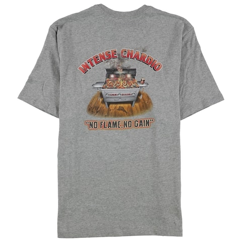 Tommy Bahama Mens Intense Chardio Graphic T-Shirt, Grey, Small