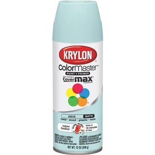Krylon/Consumer Div Matte Aqua Spray Paint K05357307 Unit: EACH