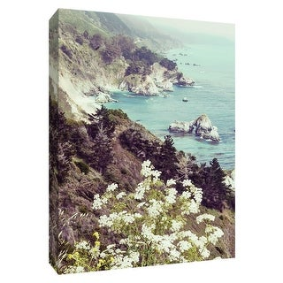 "PTM Images 9-148692  PTM Canvas Collection 10"" x 8"" - ""California Coastline"" Giclee Mountains Art Print on Canvas"
