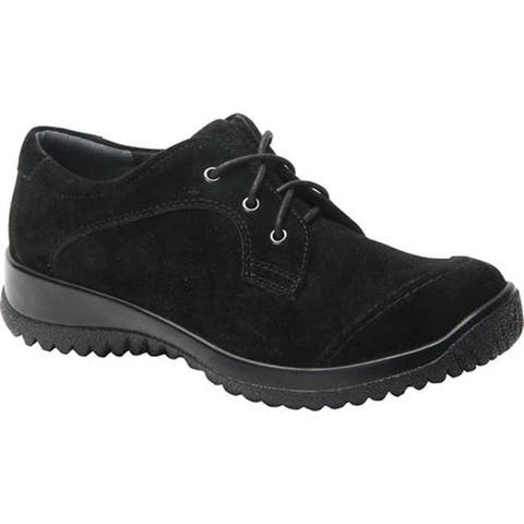 Drew Women's Hope Lace-Up Black Suede