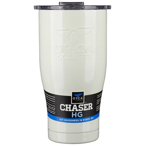 ORCA ORCCHA27PE/CL Team Chaser Tumbler, 27 Oz, Pearl/Clear