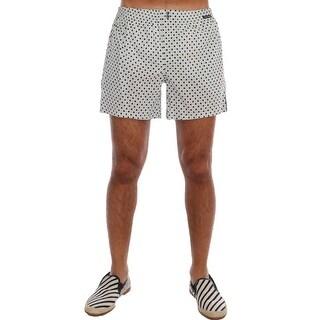 Dolce & Gabbana Dolce & Gabbana Light Blue Polka Dot Pajama Shorts - S