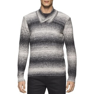 Calvin Klein Mens Pullover Sweater Knit Space Dye