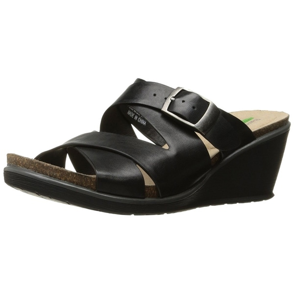 Bare Traps Womens nealy Leather Open Toe Casual Platform Sandals