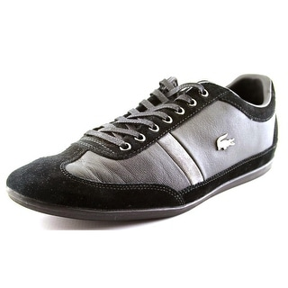 Lacoste Misano 22 Concours Round Toe Leather Sneakers