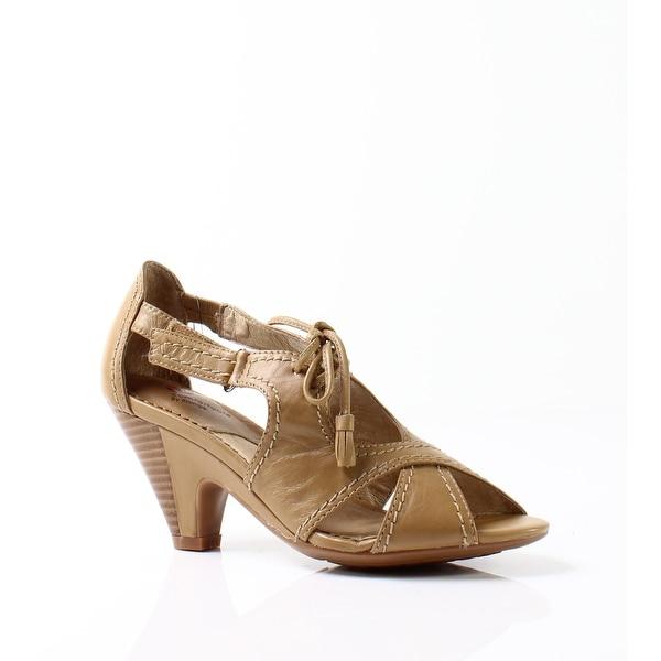 Blondo NEW Beige Women's Shoes Size 5.5N Marinella Leather Sandal
