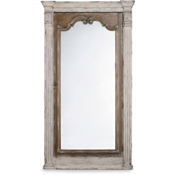 Hooker Furniture 5351-50003 47 Inch Wide by 84 Inch Tall Hardwood Jewelry Mirror - paris vintage