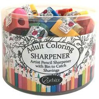 Assorted - Adult Coloring Pencil Sharpeners 50/Pkg - 50/Pack