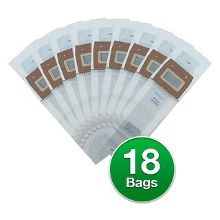 Replacement Type Z Vacuum Bag for Sanitaire 63881A / 16071 Bag Models (6 Pack)